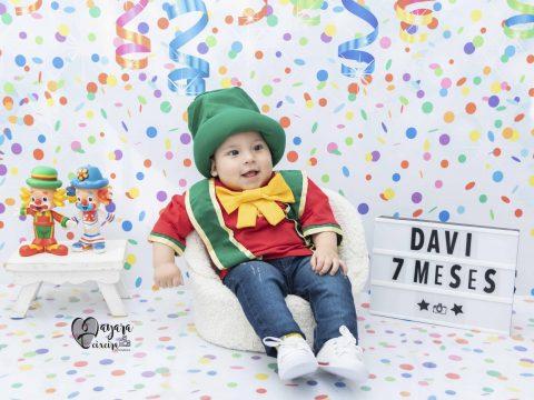 Davi – 7 meses