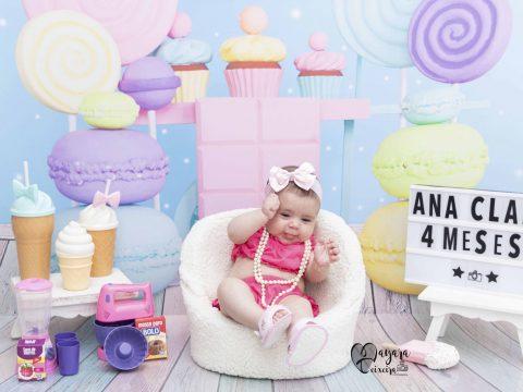 Ana Clara – 4 meses