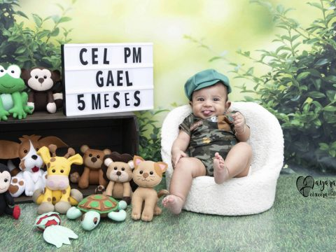 Gael – 5 meses