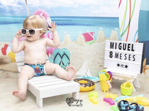 Miguel – 8 meses